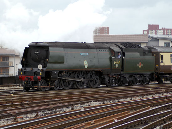 Tangmere at Bristol Temple Meads